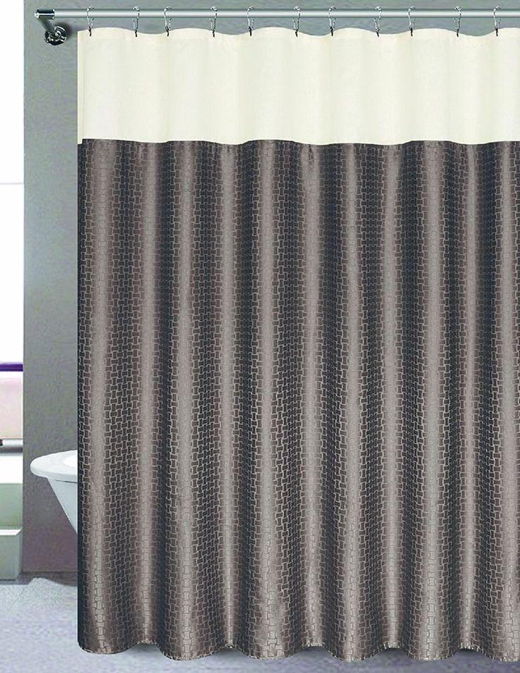 "RT Designers Collection Ashton Shower Curtain 70"" x 72"