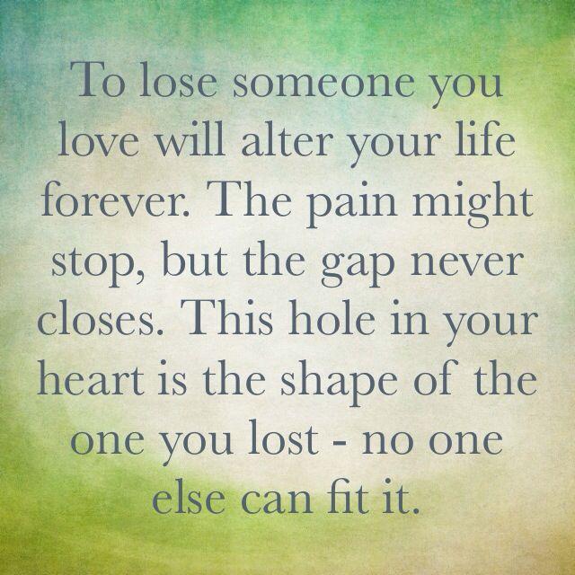Loosing Someone: Losing Someone You Love