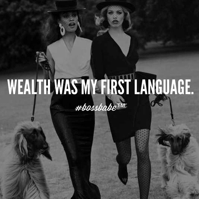 We don't speak broke-anese ... Join the #Bossbabe Netwerk™ (Click The Link In Our Profile Now! )