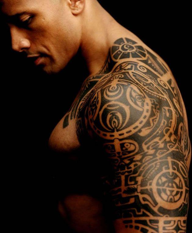 The Rock..omg: Eye Candy, Dwaynejohnson, The Rocks, Dwayne Johnson, Beautiful, Therock, Man, Ink, Tribal Tattoo