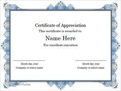 Excellent-Execution-Certificate-Template-Word-Format , Finding Proper Gift Certificate Template Word , Gift certificate template word will make it easier for everyone to us it in the making of a proper certificate for gift delivery according to certain occasions.