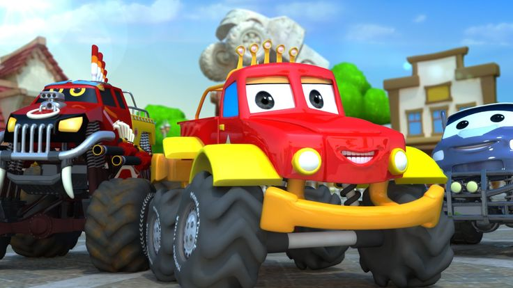 Monster truck Dan is back but, he's not alone. Dan brings with him his Monster Truck Gang. Let's have fun with them. #danmonstertruck #monstertrucks #trucks #vehicles #educational #babyvideo #childrenvideo #funforkids #kids #parenting