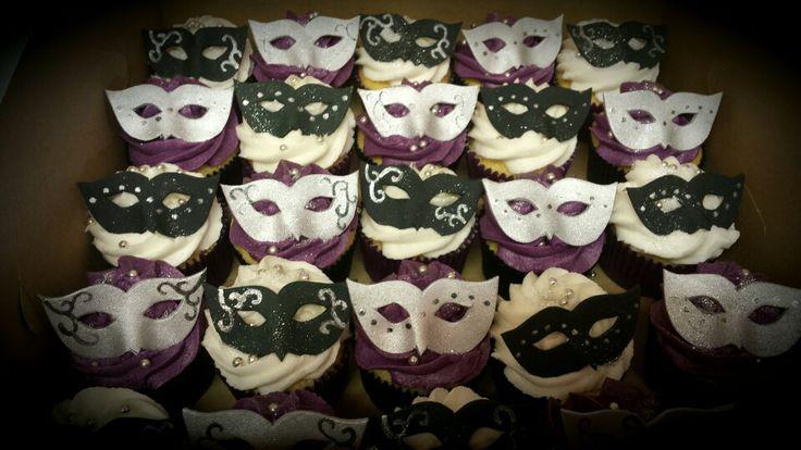 Maskerade cupcakes