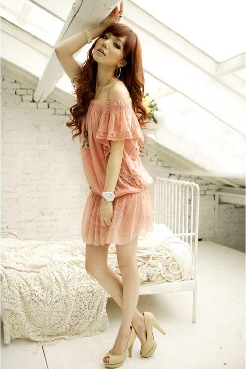 robe de femmes: Photos Galleries, Fashion Dresses, Korean Fashion, Fashion Stores, Dresses Trends, Green Fashion, Asia Fashion, Fashion Wholesaling, Girls Style