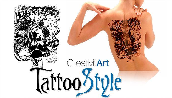 Il Tatuaggio è ormai divenuta Opera d'Arte dei nostri giorni. CreativitArt è a tua disposizione per trasformare i tuoi sogni in disegno da consegnare al tuo tatuatore di fiducia e trasferirlo sulla tua pelle. Scegli tra le nostre illustrazioni oppure richiedici il tuo Tattoo personalizzato!