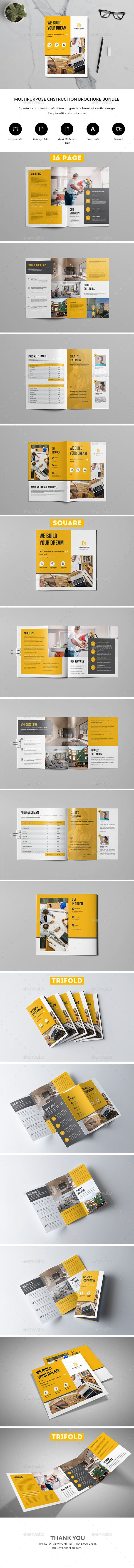 Construction Brochure Bundle