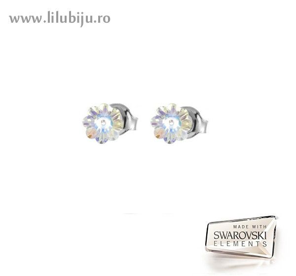 Cercei Swarovski Elements™ - Flori Margaritas AB by LiluBiju (copyright)