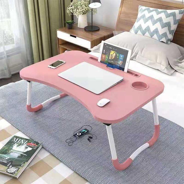 Folding Laptop Stand Holder Portable Study Table Desk