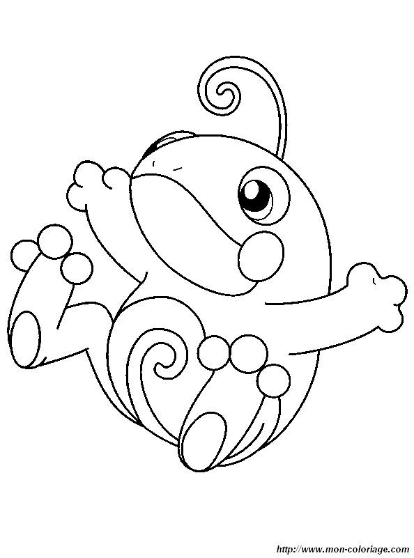 baby pokemon coloring pages - photo#11