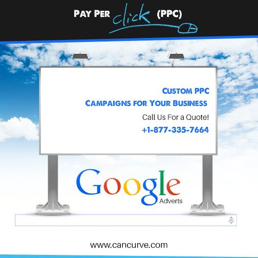 Your #Business Needs Custom #PPC Solutions. Let the #Experts Work For You. www.cancurve.com