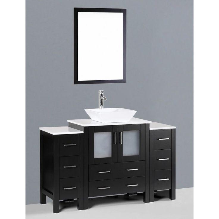 Bosconi 54 in. Single Bathroom Vanity Set - AW130S2S