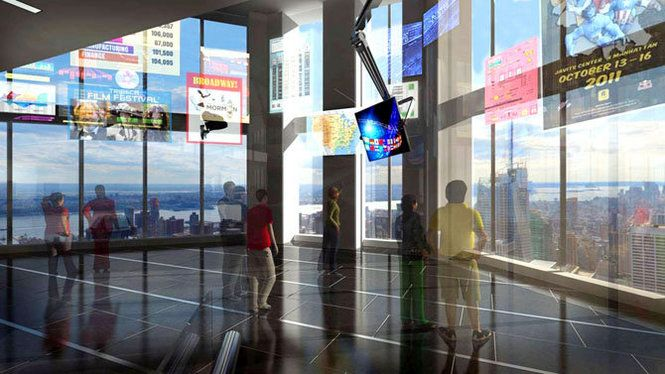 A first look at the observation deck on the 100th floor of One ...