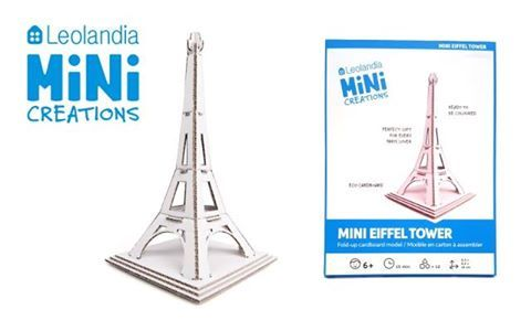 Check out the elegant Leolandia Mini Eiffel Tower! 😊 Explore the Tower's many intricate parts, paint it in color, or transform it into a bedroom decoration!