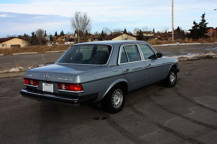 1982 Mercedes Benz W123 300d Turbo Diesel Car