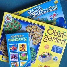 Empfehlenswerte Gesellschaftsspiele für Kinder ab 3 Jahren