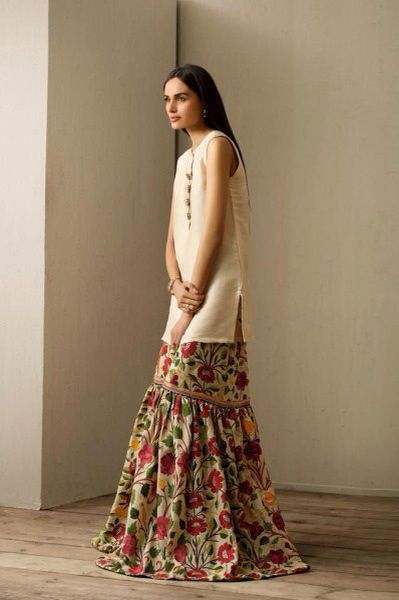 cynosure's gharara eid collection 2015 pakistani fashion