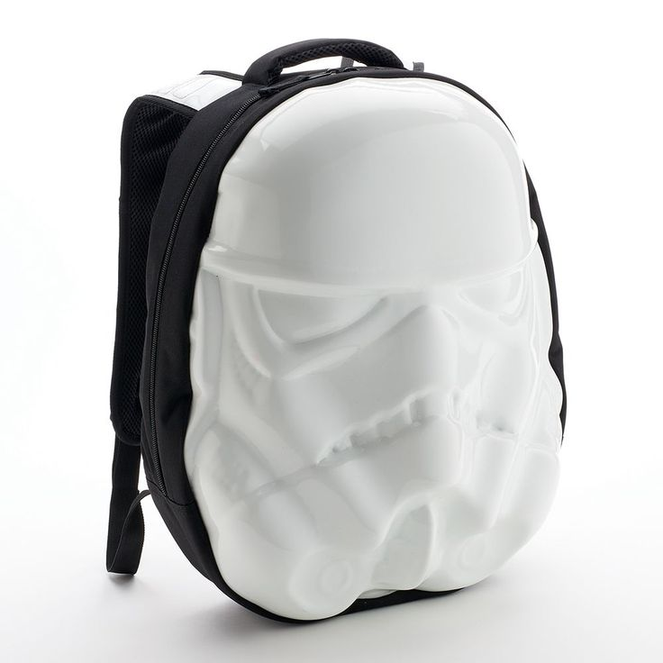 Star Wars Stormtrooper Head Backpack, White