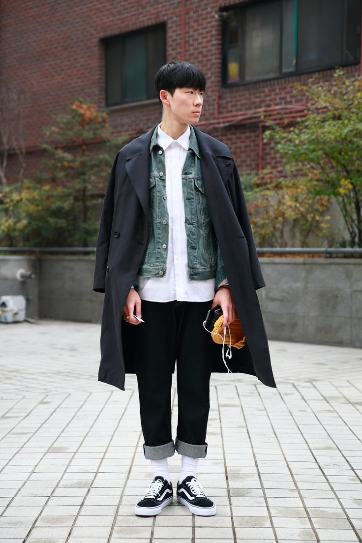 asian style mens