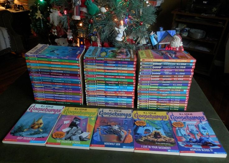 63 complete set goosebumps all original series books for Bureau 13 book series