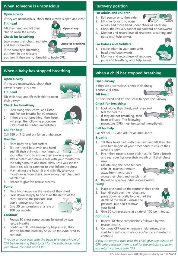 The importance of basic first aid knowledge