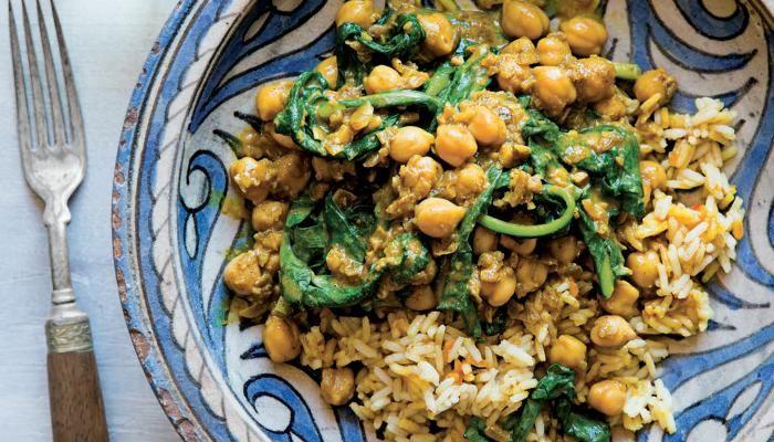 Chickpea Masala & Saffron Rice   The Splendid Table