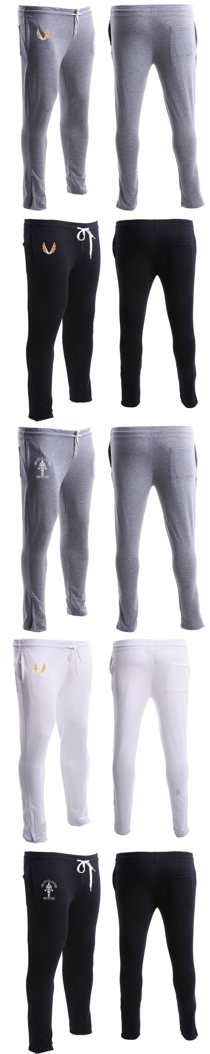 2017 High Quality Jogger Pants Men Fitness Bodybuilding Golds Gyms Pants For Runners Clothing Autumn Sweat Trousers Britches