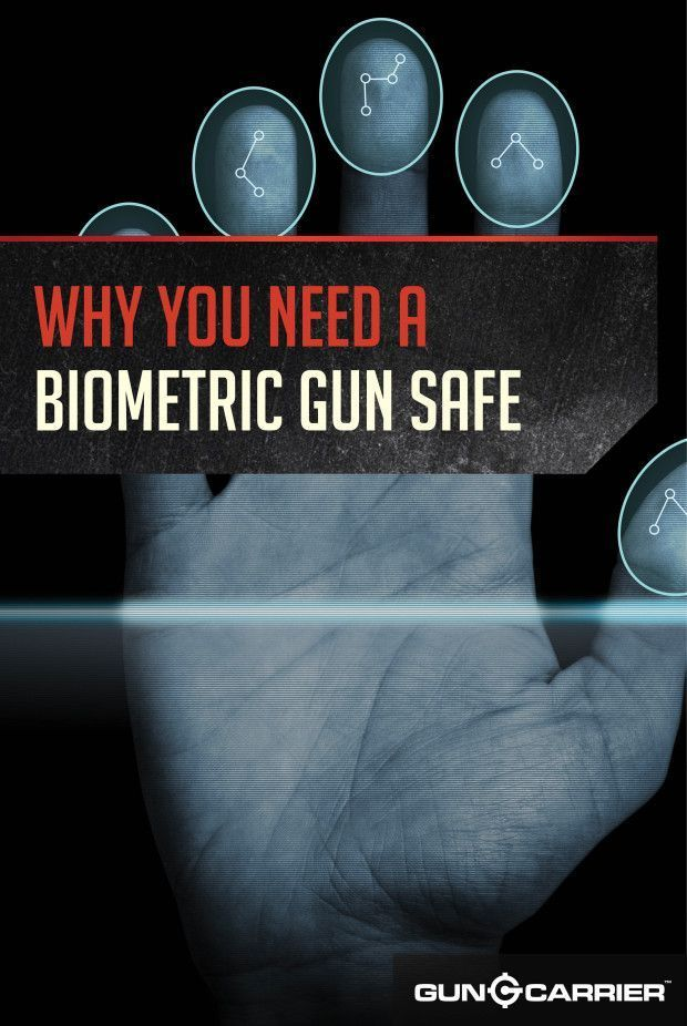The Pros of a Biometric Gun Safe | Safe and Secure Gun Safe review by Gun Carrier http://guncarrier.com/biometric-gun-safe-pros/