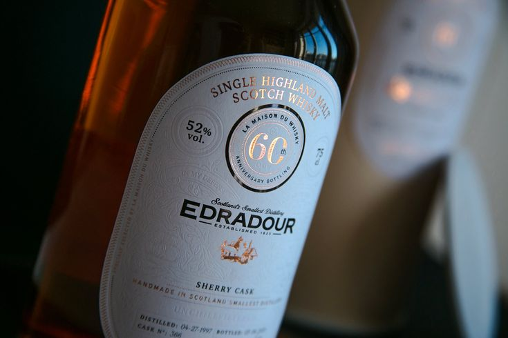 Grab a glass and sit in your recliner by the fireplace—that's exactly what this concept for Edradour Whisky will make you want to do. Designed by Alex Arzuman and Andy Migevant, it possesses countless ornate, classy details. Foiling feels incredibly high-end, the bottle shape stands out and looks slightly different than many on the market, and texture on the label adds to its extravagance.