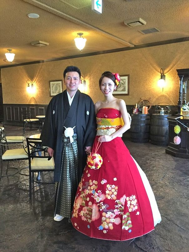 Brides In Japan Are Turning Their Traditional Kimonos Into Extraordinary Wedding Dresses
