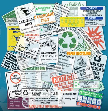recycling signs.. confused?