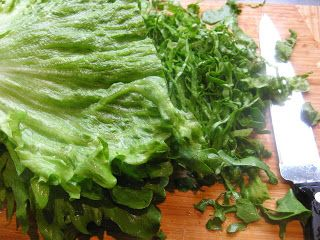 Something Else to Eat: After the earthquake: Tranquil lettuce soup