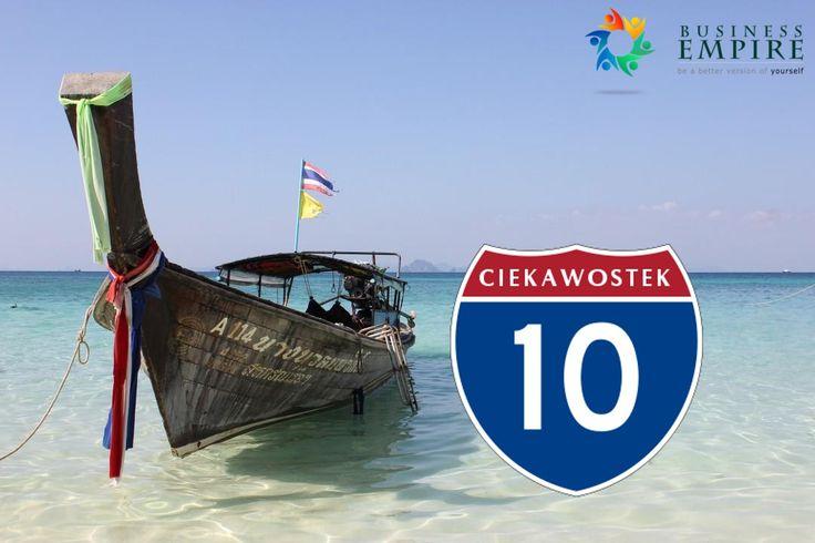 10 ciekawostek i faktów o Tajlandii