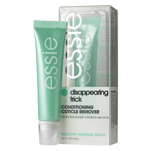 disappearing trick.  This is by far the best cuticle remover I have ever used.  I apply it on my cuticles and then gently scrub with a nail brush or small toothbrush and it smooths the cuticles away instantly.  Non-greasy and is not oily.