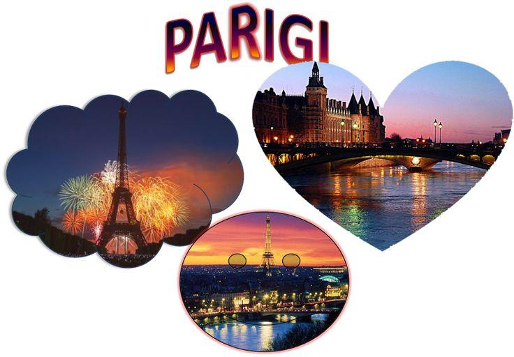 Vorrei andare a Parigi