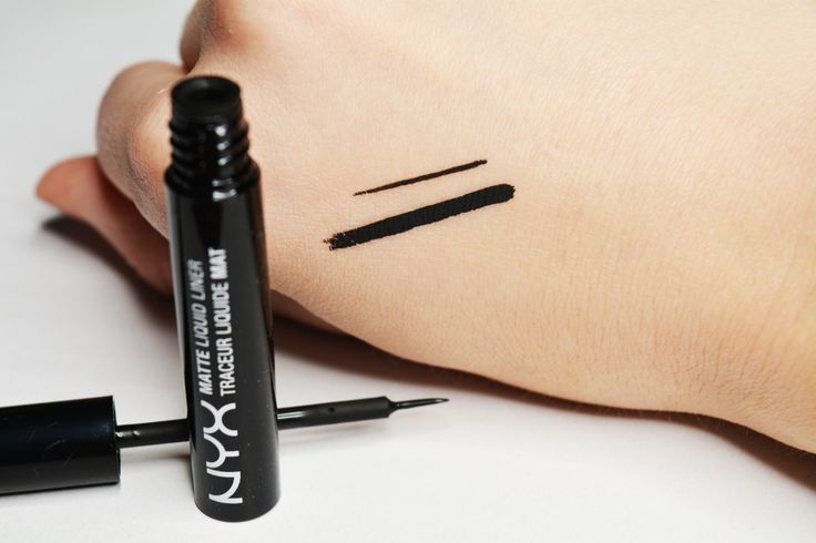My all time favorite - NYX Matte Liquid Liner