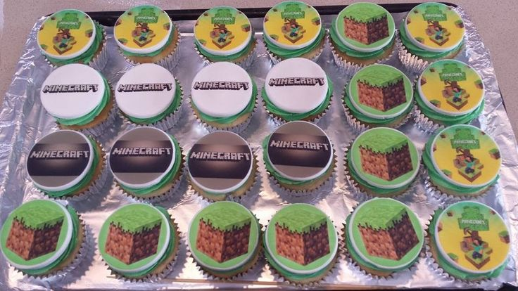 Minecraft cupcakes! | Baking Yumminess | Pinterest ...
