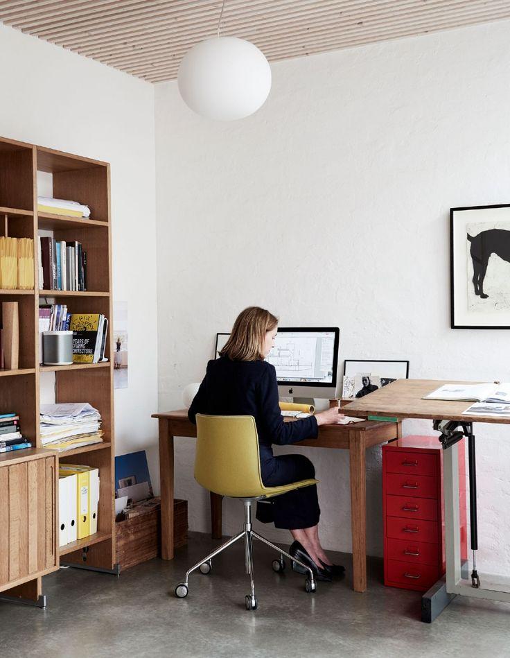 Die besten 25+ Eckbüro Ideen auf Pinterest Kleines Wohnbüro - arbeitsplatz drucker wohnzimmer verstecken