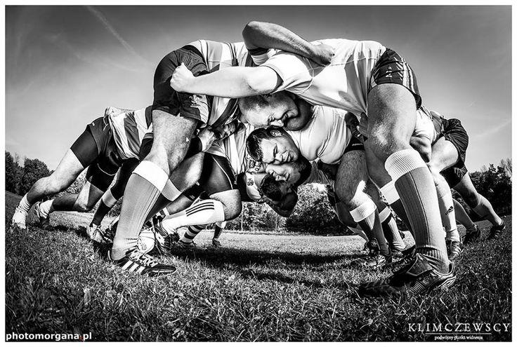 Męska dużyna rugby AZS-AWF Łowcy Warszawa