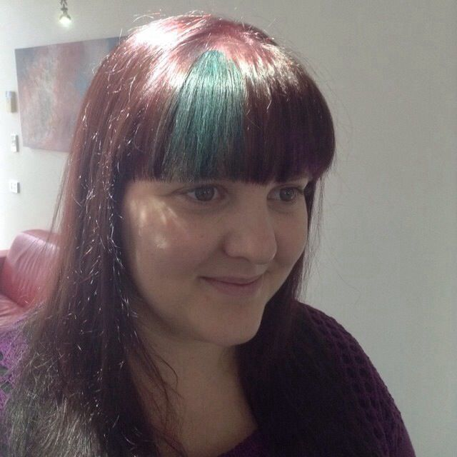 Green Hairchalk