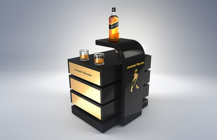 Johnnie Walker Furniture on Behance