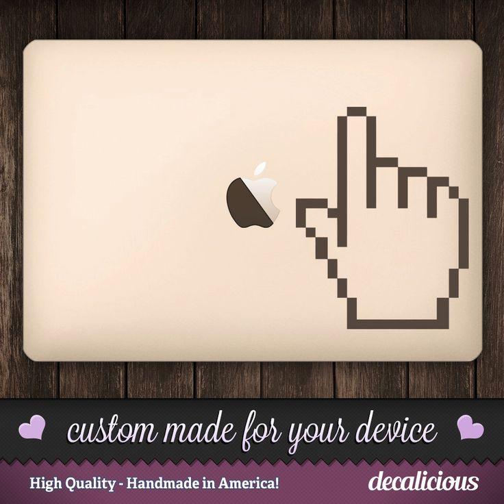 Best MacBook Device Decals Images On Pinterest Vinyl - Custom vinyl stickers macbook