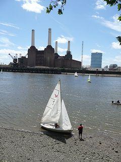 Sailing, Battersea Power Station