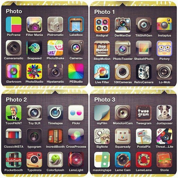 iPhone photo apps