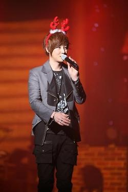 #Hyesung Our little reindeer :3