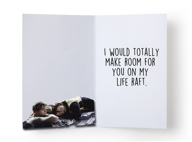 For the best friend who would really never let you go. | 14 Valentine's Day Cards For Your Best Friend