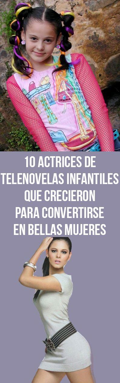 10 actrices de telenovelas infantiles que crecieron para convertirse en bellas mujeres
