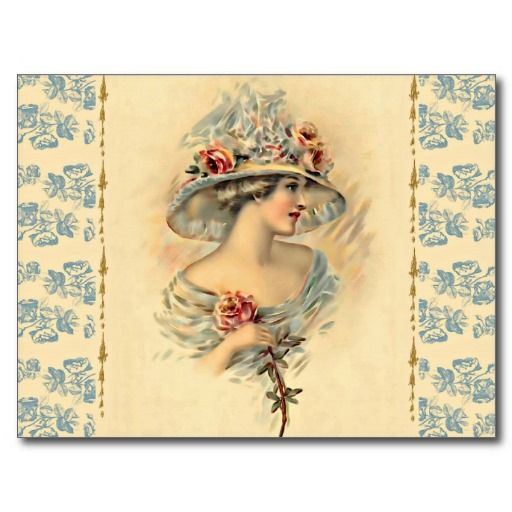 Victorian Parlour_Mary Postcard #vintage #Victorian