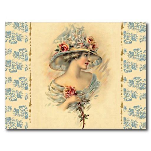 Victorian Parlour_Mary Postcard #vintage #Victorian