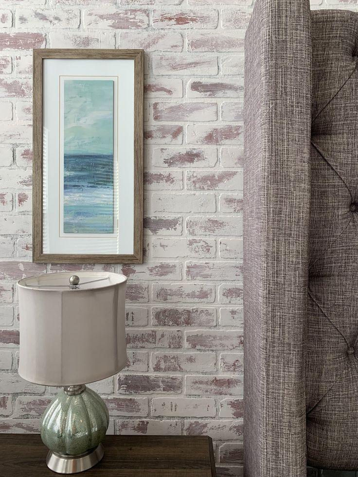 Devine Color Peel and Stick Wallpaper Textured Brick