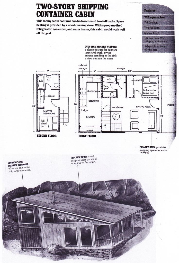 92 best images about floor plan guest house on pinterest for Shipping container garage floor plan